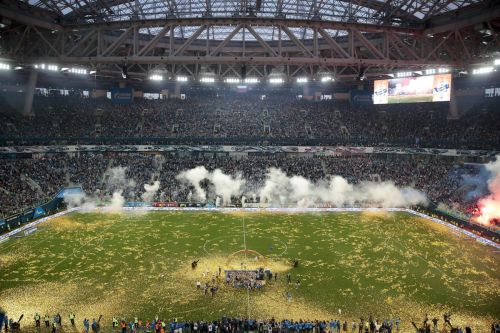 Some fans allowed in stadiums when Russian soccer returns