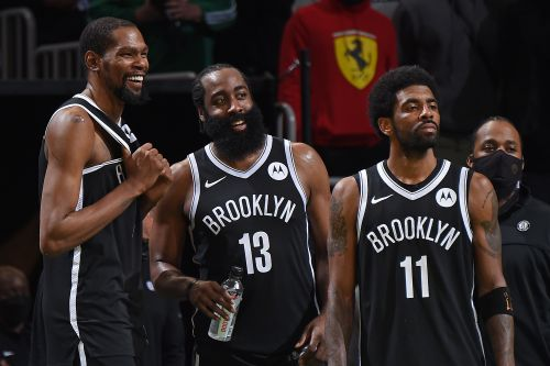 Nets plan to extend Kevin Durant, Kyrie Irving, James Harden contracts