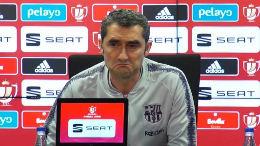 Valverde not thinking about Barcelona future