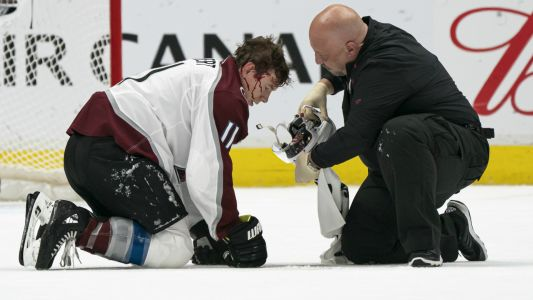 NHL players critical of Avalanche-Canucks officials for handling of Matt Calvert injury