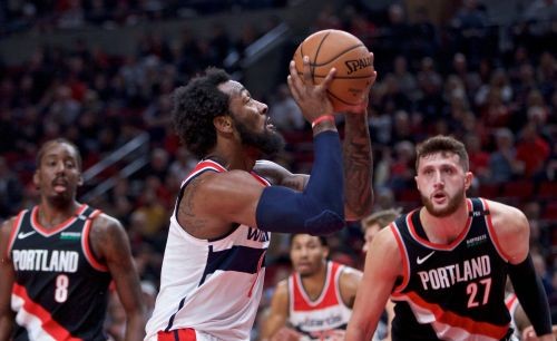 Morris has 28 and Wizards edge Blazers 125-124 in OT