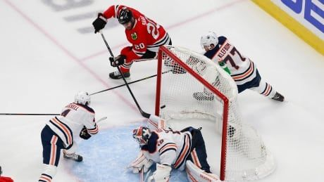 Host Edmonton handed short, painful trip home after falling to Chicago