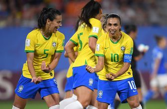 2019 FIFA Women's World Cup™: Brazil's Marta becomes the World Cup's all-time leading goal scorer | HIGHLIGHTS