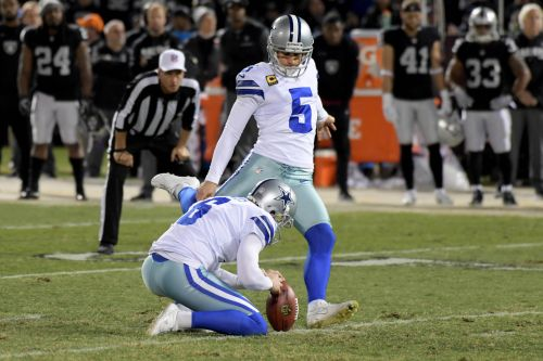 Vikings sign kicker Dan Bailey, drop Daniel Carlson, per report