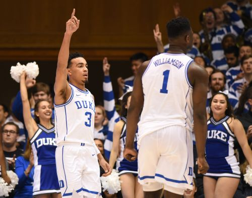 Duke returns to No. 1 in USA TODAY Sports men's basketball coaches poll
