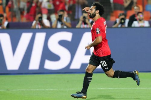 Watch: Mohamed Salah nets first goal at African Cup of Nations