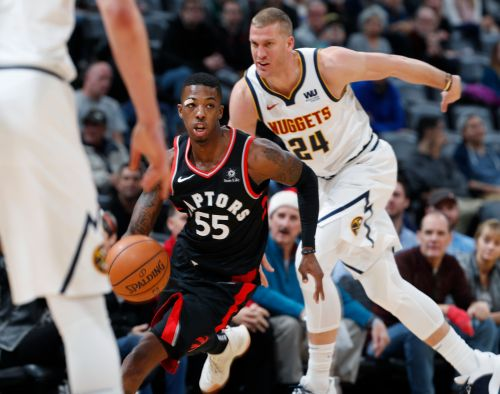 Nuggets beat Raptors 95-86 in matchup of conference leaders