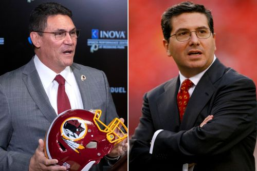 Ron Rivera working on new nickname with Redskins owner
