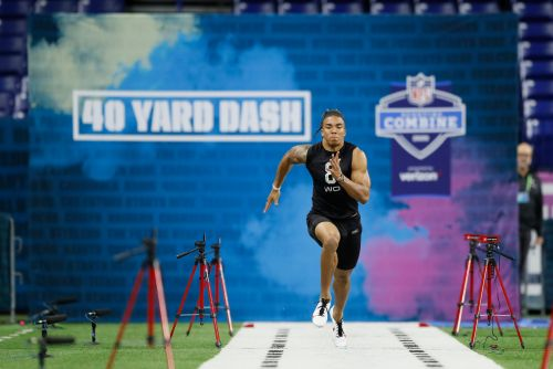 Notre Dame's Chase Claypool outruns tight end talk, boosts wide receiver draft status at NFL scouting combine