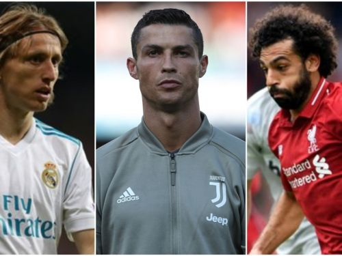 Video: Ronaldo, Modric and Salah shortlisted for player of the year