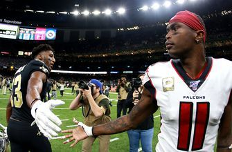 Julio Jones - not Michael Thomas - is named the best wide receiver in the NFL
