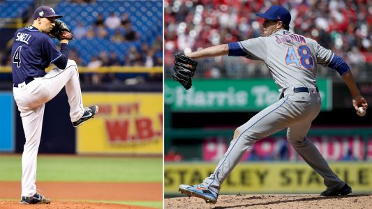 Rays' Blake Snell, Mets' Jacob deGrom win Cy Young awards