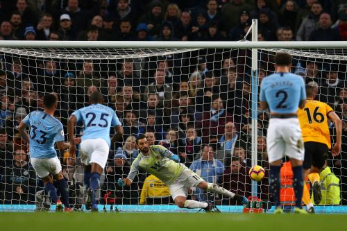Jesus keeps up scoring spree, Man City beats Wolves 3-0