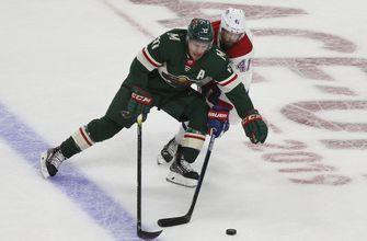 Wild win for 2nd time this season, beat Canadiens 4-3