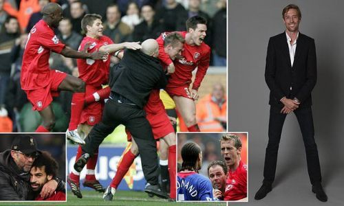 PETER CROUCH: Liverpool and Man United are on different levels now