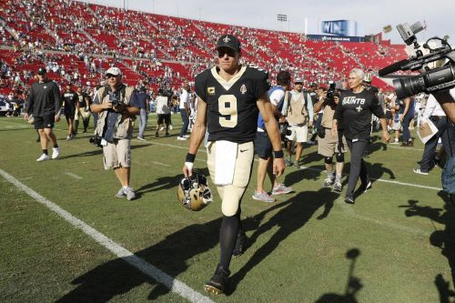 'This is not about the American flag,' Drew Brees tells Donald Trump