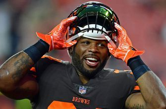 Jaguars trade 5th-round draft pick for RB Carlos Hyde