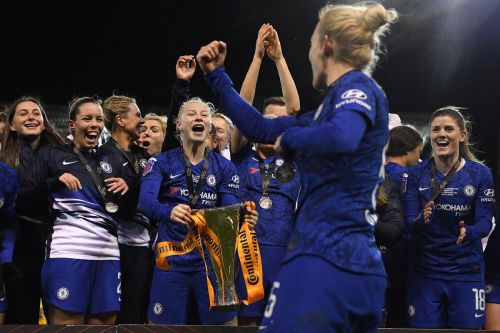 Why the women's soccer season is over in England, while the men prepare to return