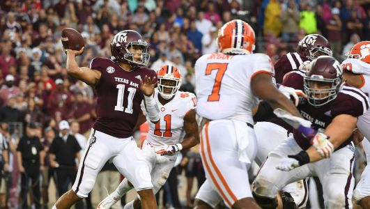 So what was the most noteworthy statistic from the Clemson vs. Texas A&M game?