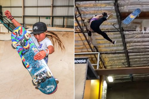 11-year-old skateboarder Sky Brown still eyeing Olympics after life-threatening fall