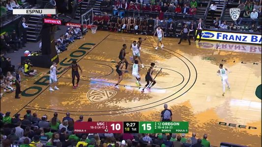 Highlights: Payton Pritchard, Chris Duarte power No. 12 Oregon men's basketball past USC in double overtime