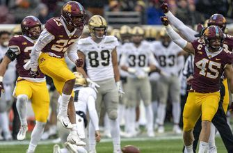 Gophers' defense shines in 41-10 win over Purdue