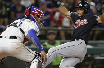 Alonso, Carrasco lead Indians to 16-3 win over Rangers