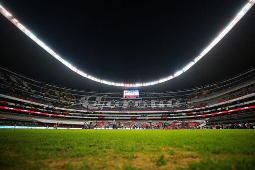 The field for the Chiefs-Rams game in Mexico City is in awful condition