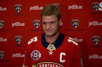 "Panthers thrilled to have Aleksander Barkov wear the ""C"""