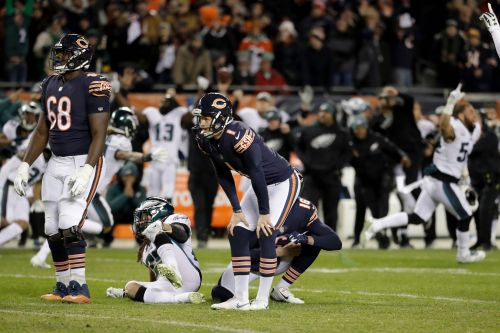 Bears GM won't say if Parkey will be back next season