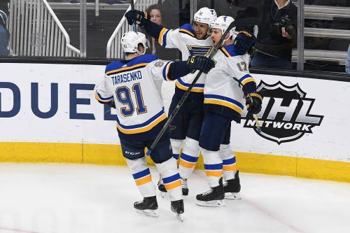 Blues rout Sharks, one win away from first Stanley Cup Final appearance in 49 years