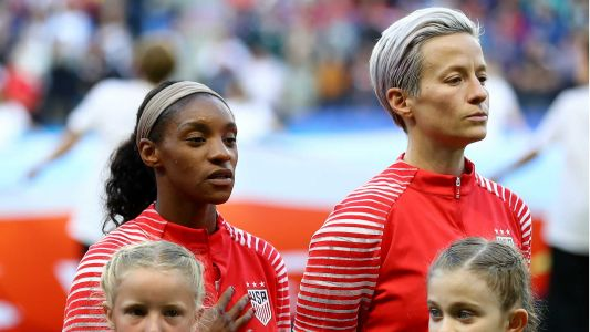 Women's World Cup 2019: President Trump says Megan Rapinoe shouldn't protest during anthem