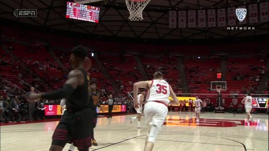 Highlights: Timmy Allen's double-double leads Utah men's basketball past USC 79-65