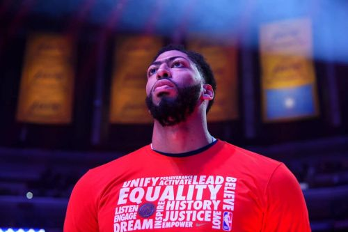 Magic Johnson Says He Implored Lakers to Complete Anthony Davis Trade