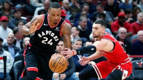 Raptors escape Chicago with ugly win to halt losing streak at 3 games