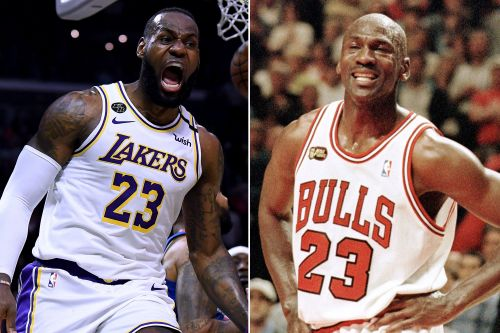 LeBron James can't contain excitement for ESPN's Michael Jordan documentary