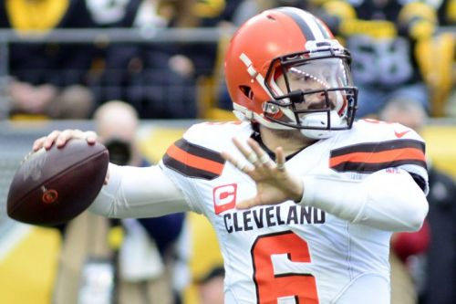 Browns exercise fifth-year options on Baker Mayfield and Denzel Ward, both top-four picks from 2018