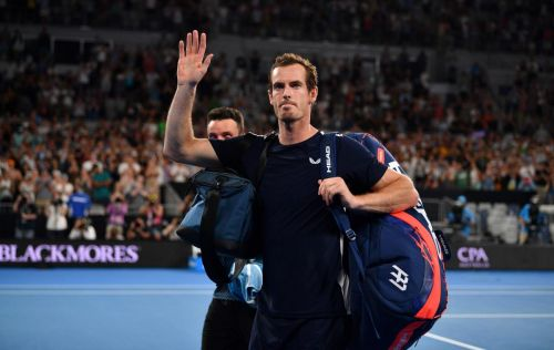 Andy Murray bids an emotional farewell to Australian Open with first-round loss