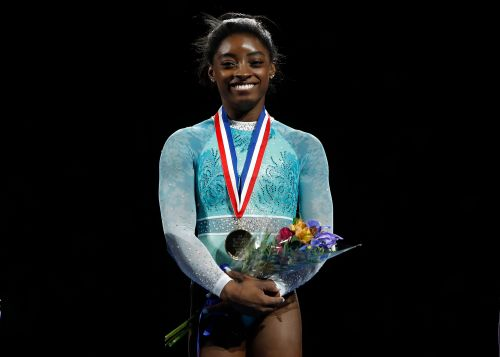 Simone Biles has power, and she's not afraid to use it