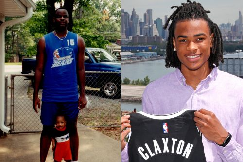 Nic Claxton is poised to fulfil the NBA dream his father started