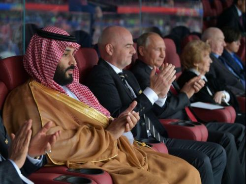 Russia opens World Cup by treating Putin, home crowd to a show in 5-0 rout of Saudi Arabia