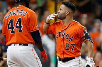 Astros go back-to-back-to-back in win over Texas
