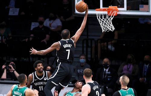 Nets shake off rust and then cruise to Game 1 win over Celtics