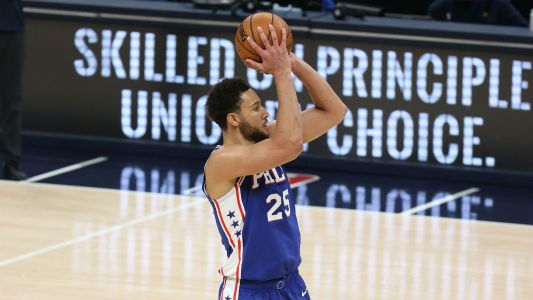 Joel Embiid takes shot at Ben Simmons after 76ers' Game 7 loss to Bucks