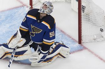 Blues remain winless in bubble, falling 5-2 to Canucks in playoff opener
