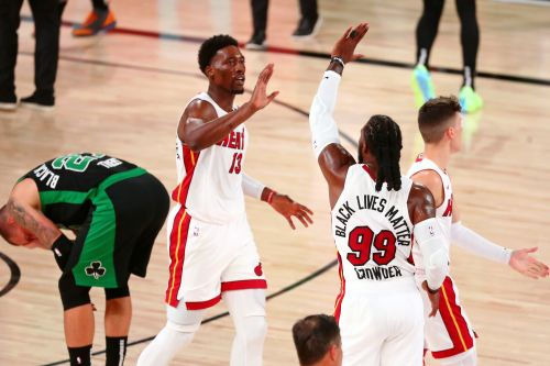 'This one was for her': Heat star Bam Adebayo and others channel anger to the court for Game 4