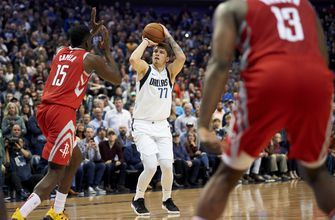 Luka Doncic helps Mavericks beat Rockets