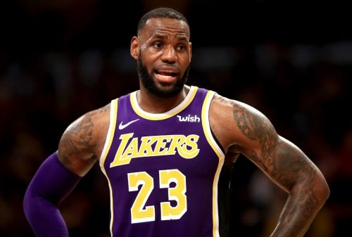 LeBron James 'Almost Cracked' During Lakers' Early Struggles