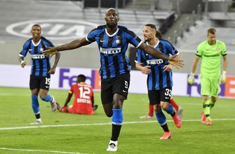 Inter Milan beats Leverkusen 2-1 to reach Europa League semi
