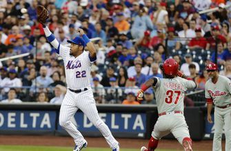 Dominic Smith 'at ease' and producing in Mets camp